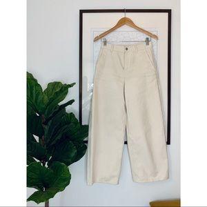 COS Wide Leg Cropped Pants
